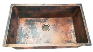 copper kitchen undermount sink