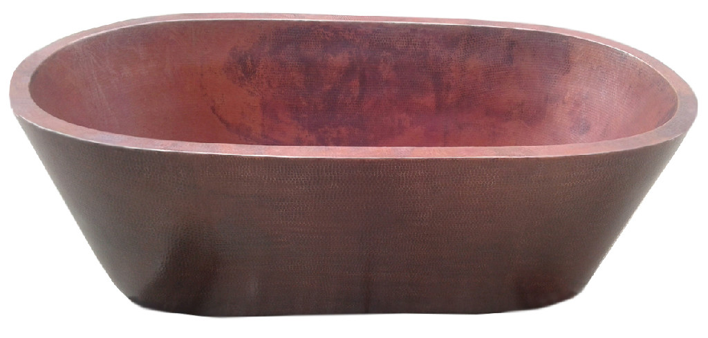 copper bath tub raw copper
