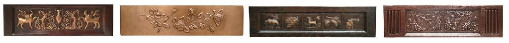 copper apron front designss