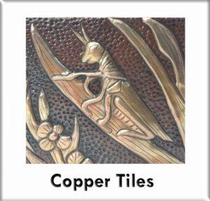 Custom Copper tiles