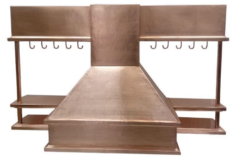Custom copper hood ranges