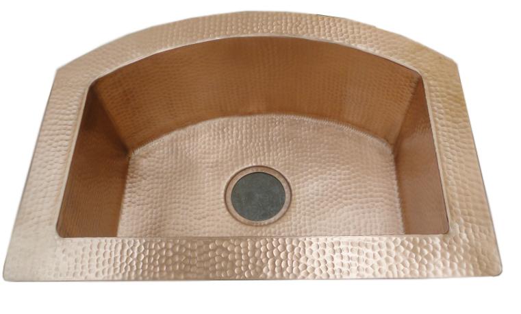 Golden Bronze patina finish