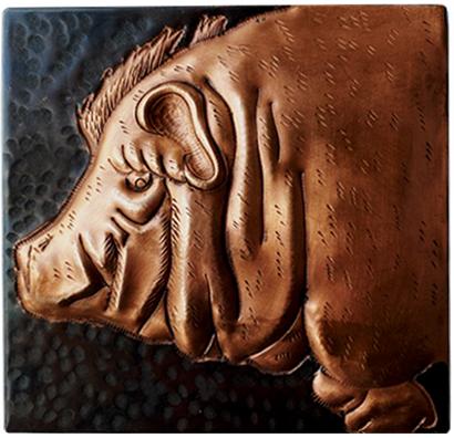 Copper Hog Tile