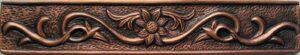 copper border tile design