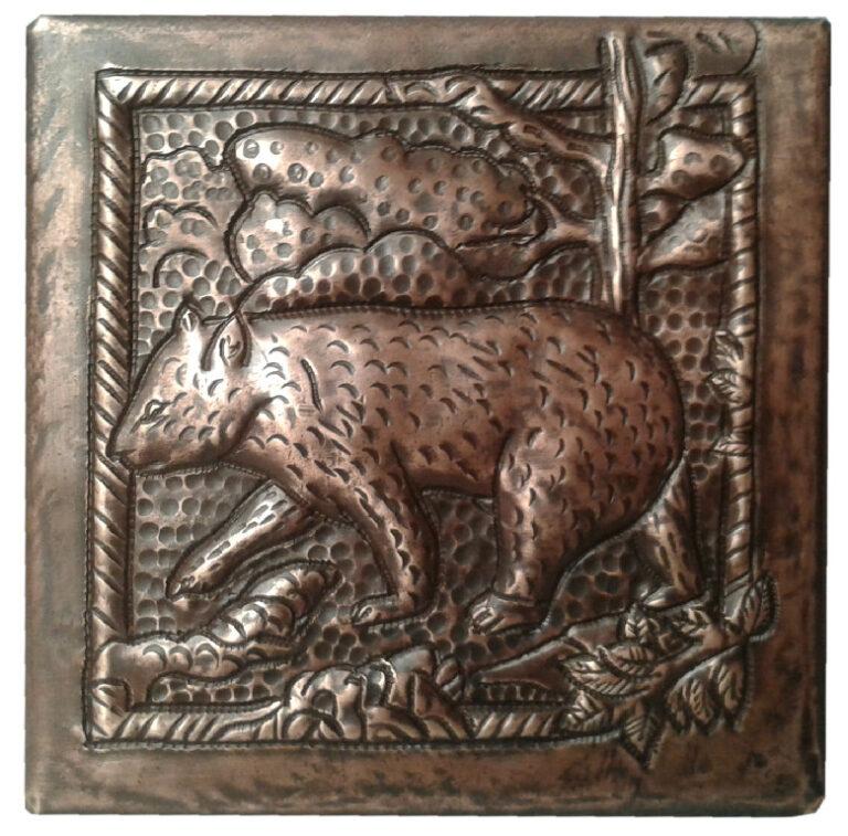 custom bear tile