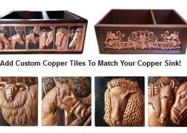 copper kitchen sink apron designs ideas